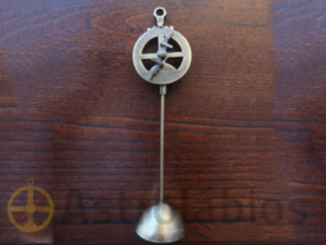 Lembrete metal astrolábio
