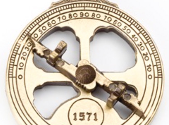 Porta chaves Astrolábio Náutico 90P229