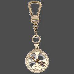 Porta chaves astrolábio náutico