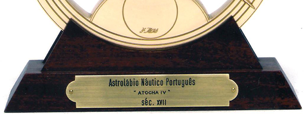 Réplica astrolábio Atocha IV