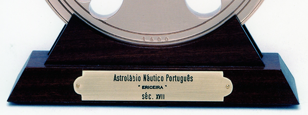 Réplica do astrolábio Ericeira