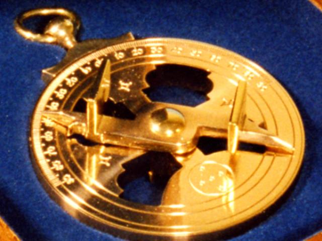 Réplica astrolábio Sacramento B Pequeno